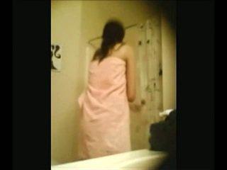 voyeur, prunc, duș