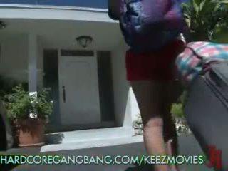 Japanese Girl's Hardcore Gangbang and DP