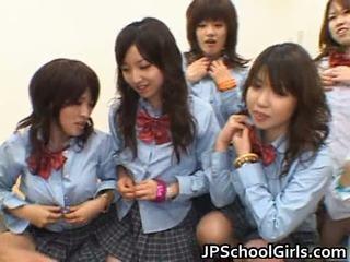 Ázsiai schoolgirls having anális szex porn