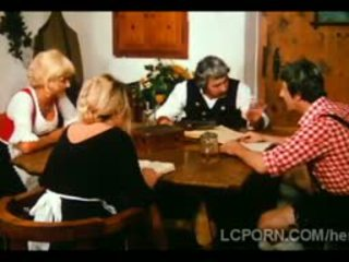 Farm Man Fucks Neighbors Hot Blonde Wife On The Table