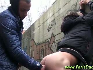 Euro amatoriale gay all'aperto cazzo succhiare