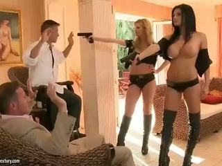 Aletta ocean un tarra baltie rfucking two guys