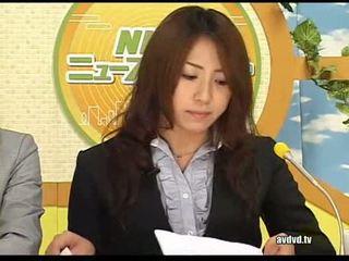 日本语 newsreaders ayumu sena 和 fuuka minase squirting l