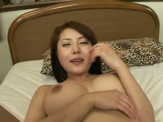 bigtits, japonisht, blowjob