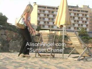 een strand heet, kijken knipperende, plagen nominale