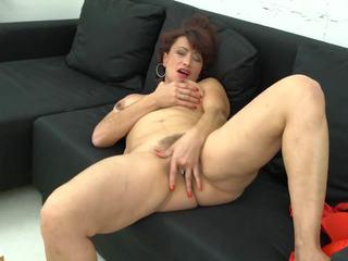 Elegant madura mamá con peluda viejo perra, porno 85