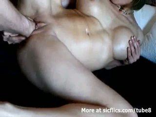 Vollbusig milf double fist gefickt bis ein wild orgasmus