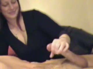 Handjob og sædsprut kavalkade