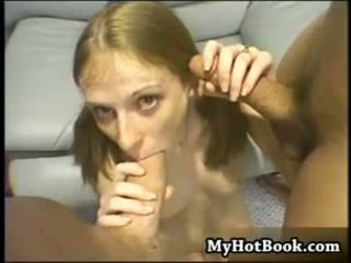 Natural titted blonde Alison knew that the guys s