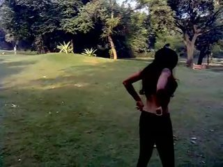 Sexy Desi Indian Girl Excercise - Boob...
