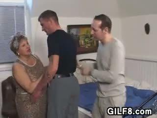 奶奶, 脂肪, 老+年轻