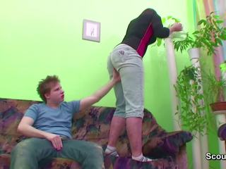 Young Boy Seduce Friends Mom to get First Fuck: HD Porn b1