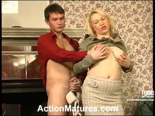 Gorące akcja dojrzewa wideo starring christie, vitas, sara