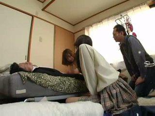 ryhmäseksi, japanilainen, pussyfucking