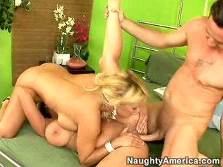 tits, blow job, hard fuck