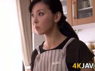 Japonesa esposa gets fodido