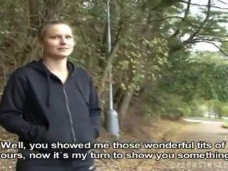 Чешка дівчина was picked вгору для публічний секс