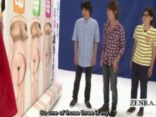 Subtitled voluptuous japānieši nūdists privāti parts spēle