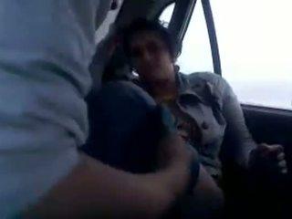 Sexe en la voiture