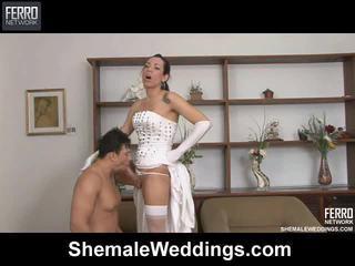 Змішувати з edu, senna, alessandra по леді хлопець weddings