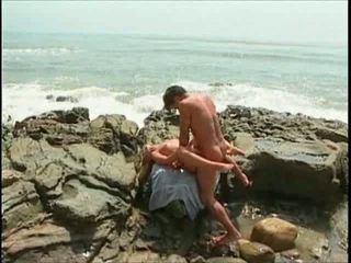 beach, sex, hardcore