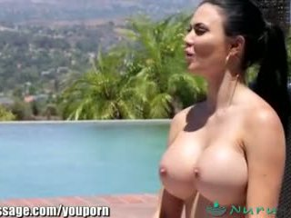 Nurumassage jasmine jae s stepson joins -ban