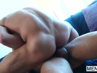 JP is pleasing Rocco?s thick cock