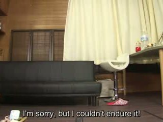 Subtitled amatérske japonské pee desperation failure v hd
