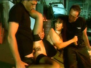 Katsuni в черни чорапогащи с guys