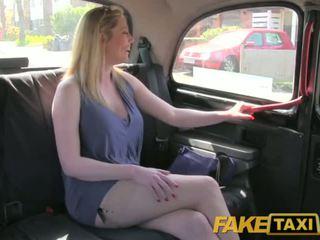 Faketaxi skitten britisk cougar er lykkelig til faen den london taxi driver