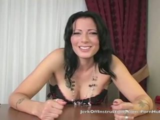 brunette, instructions, masturbation