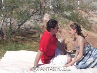 Fantasyhd - rebel lynn has sex with random stranger in public