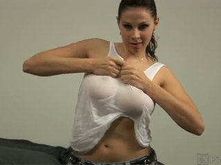 Gianna S Homegrown Knockers Measure A Whopping 36 Dd This Italian American Honey Was Hungry For Spicy Sausage So We Pressed Her Boobs Around The Tube For A Delicious Breast Fast There S More Than Enough Tit To Go Around Save Room For A Second Helping