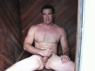 Str8 hunky dream man with movie star l...