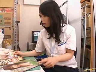 Japonais av modèle mignonne asiatique fille