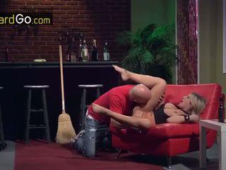 บาร์ cleaner หญิง taste ก้น ร่วมเพศ โดย ห้วหน้า charisma cappelli
