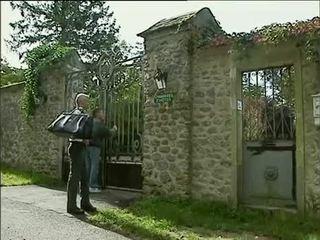 Debora coeur - גרמני עוזרת בית מזוין על ידי stranger