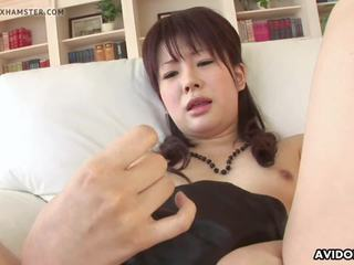 Classy Asian Idol Toys Her Wet Pussy for the Camera.