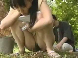 Giapponese ragazza scopata fuori