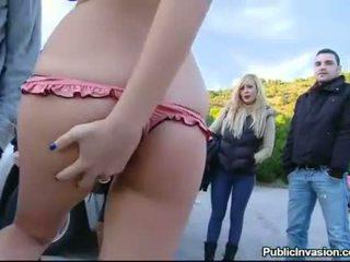 Hot Russian blonde Candy Alexa ripped