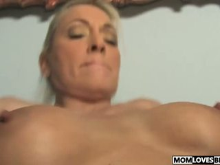 Mom Cala Craves Fucks with a BBC in Front of Her Son.