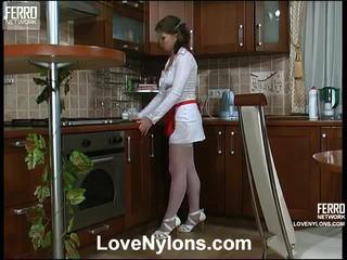 Alana y paul vivid calcetas acción